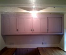 Painted Wall Kitchen Cabinet