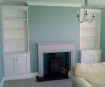 Primed Fitted Alcoves Cabinets