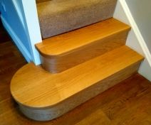 Bullnose Steps Replacement