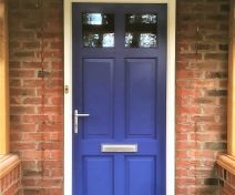 Pre-finished Accoya 6 Panel External Door with Frame