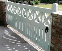 Bespoke Boards and Crosses Accoya Replacement Gate