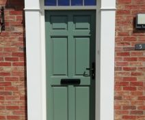 Pre-finished Accoya 6 Panel External Door and Frame