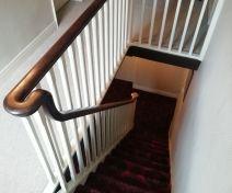 Reinstatement of a Banister with Continuous Handrail and Spindles