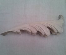 Carved leaf